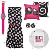 The Five WOWs: Hot Pink, Black, White