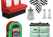 The Five WOWs: 50s Diner Kitchen Inspiration
