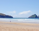 Best Beaches in Cornwall: Holywell Bay