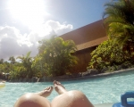 Using a GoPro at Siam Park Waterpark, Tenerife