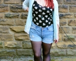 Outfit Post: How To Wear Denim Shorts