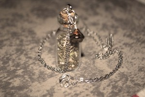 Vervain necklace, witchcraft, protection, jewellery, onetenzeroseven, vampire diaries
