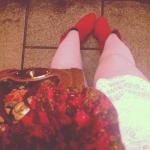 Scarlet Florals by onetenzeroseven