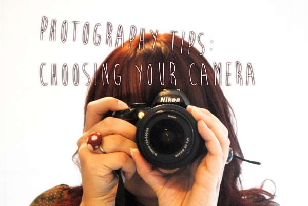 Photography Tips, Choosing Your Camera