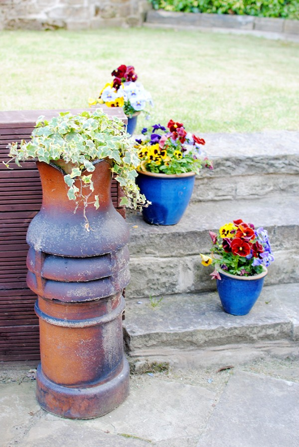 Chimney Planter, Chimney Pot Planter, Plant Pot DIY