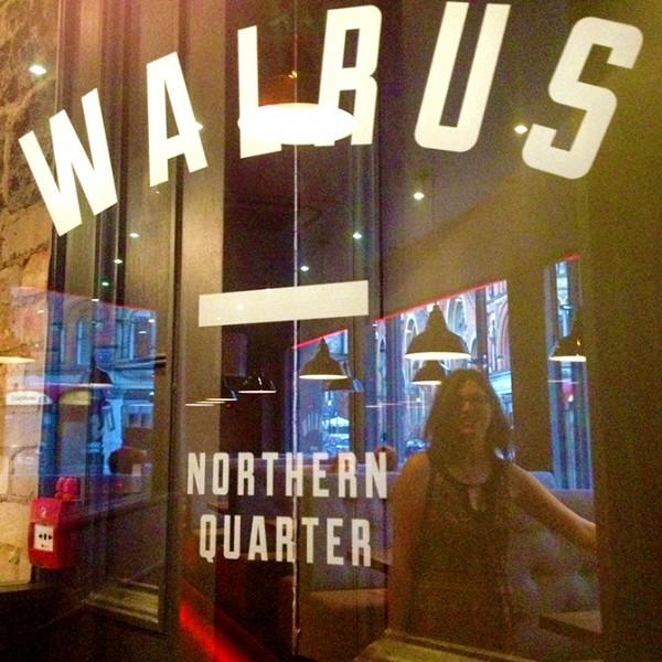 Walrus bar, Manchester