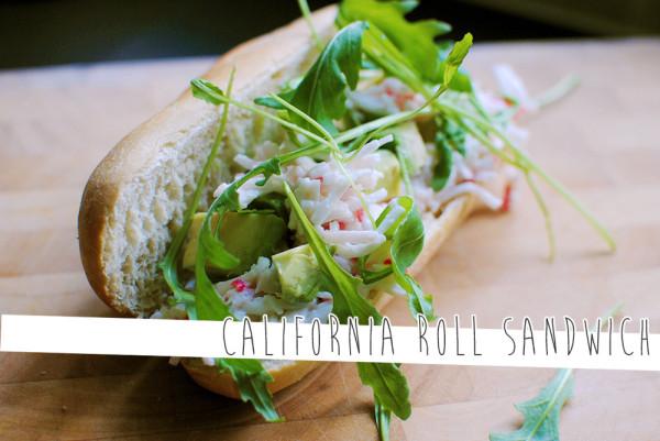 California Roll Sandwich by Onetenzeroseven
