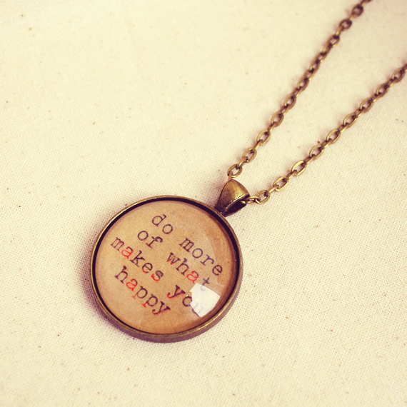 Happiness Quote Jewellery