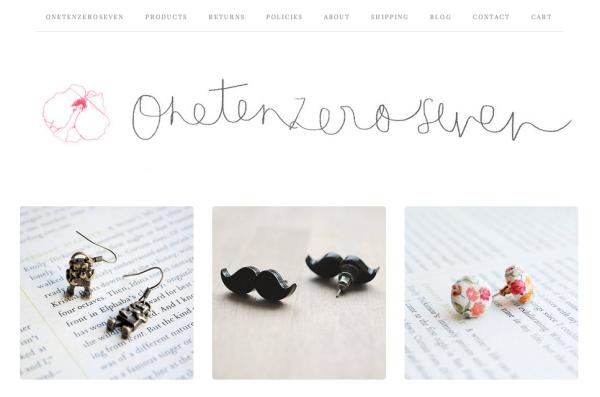 Onetenzeroseven Jewellery Store