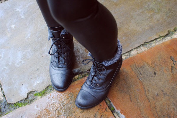 Best Cheap Boots, Lace Up, Fur Trim