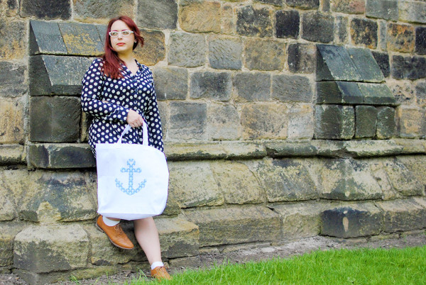 Polka Dot Outfit Post