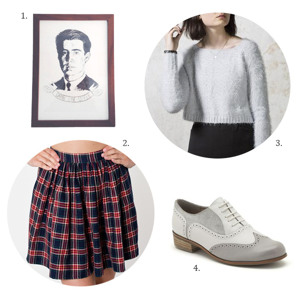 Audrey Twin Peaks Style Shoes, Agent Cooper