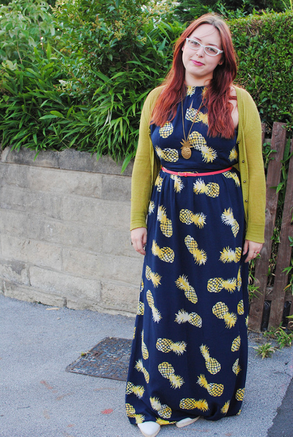 Pineapple Maxi Dress