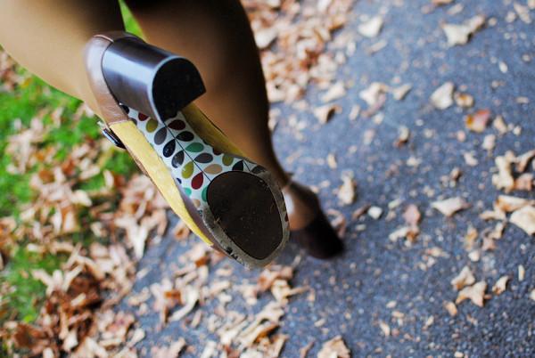 Orla Kiely Shoes, Dotty