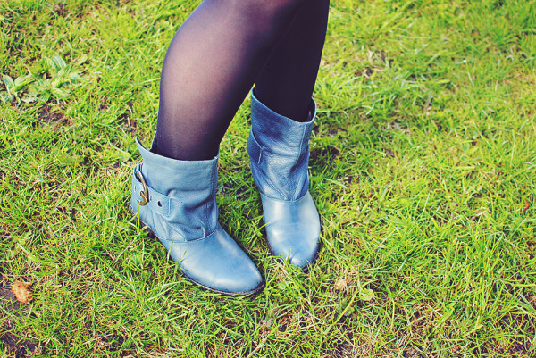 Blue Boots, Outfit Post