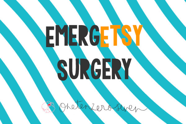 EmergEtsy Surgery - FREE advice for selling on Etsy