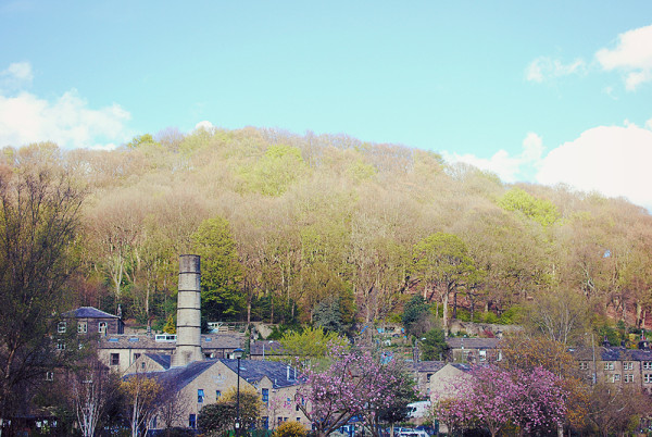 Beautiful Hebden Bridge Scenery
