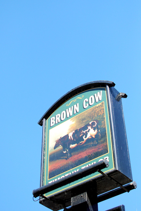 The Brown Cow Pub, Bingley