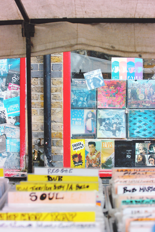 London Record Shop Camden Market