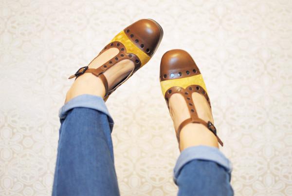 Orla Kiely Shoes Dotty Clarks