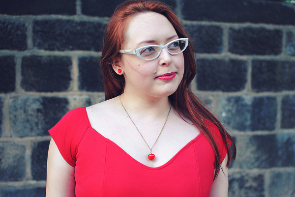 Red Dress Outfit Post