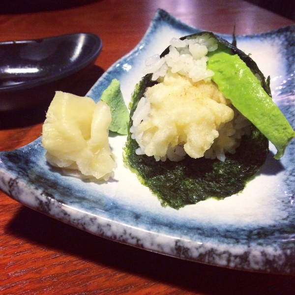 Prawn Tempura & Avocado Hand Roll