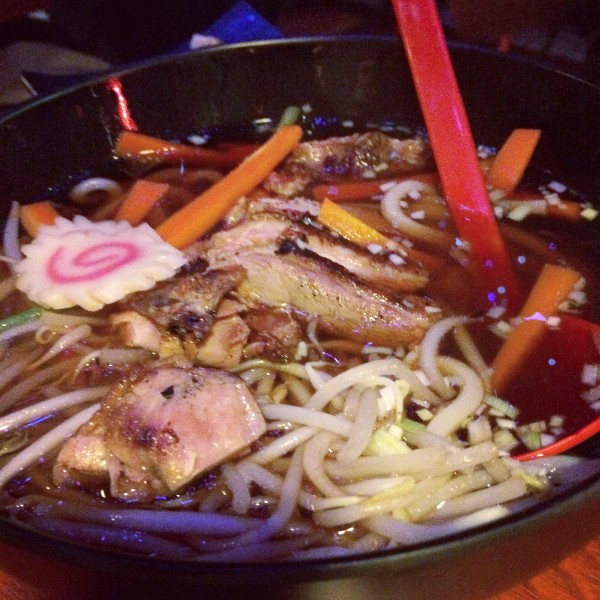 Noodle Soup, Bento Ya Edinburgh