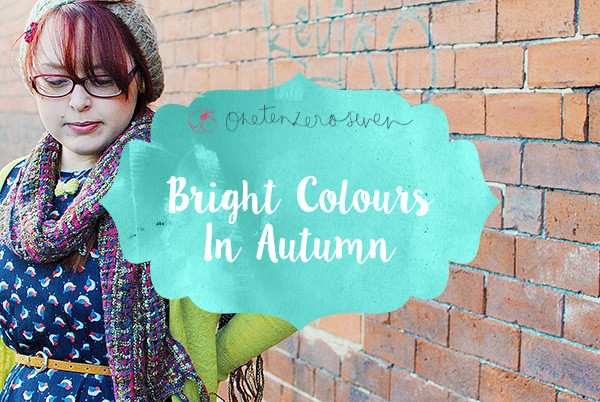 Bright Colours In Autumn