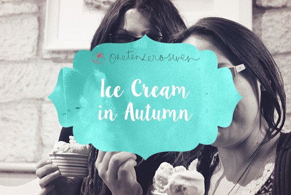 Ice Cream In Autumn