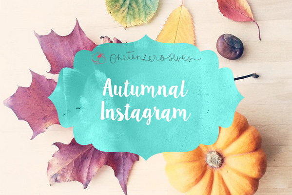 Autumnal Instagram