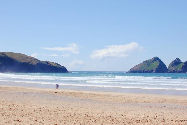 Beaches near Newquay