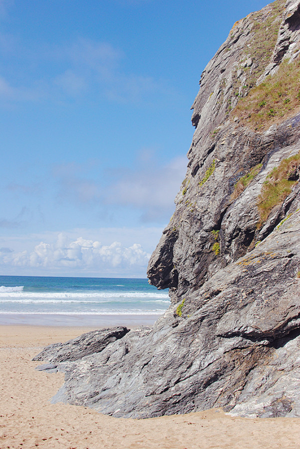 Beautiful Beaches In Cornwall, Holywell Bay