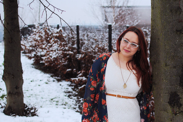 Florals and Navy, Outfit Ideas For Winter