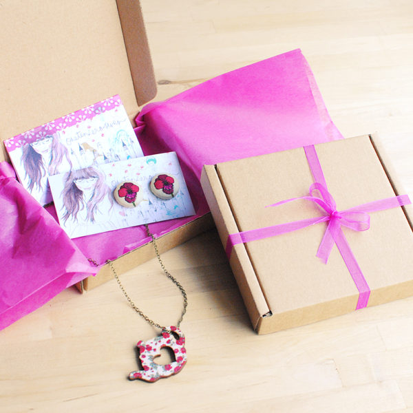 Jewellery Packaging, Handmade Jewellery Gift Wrap
