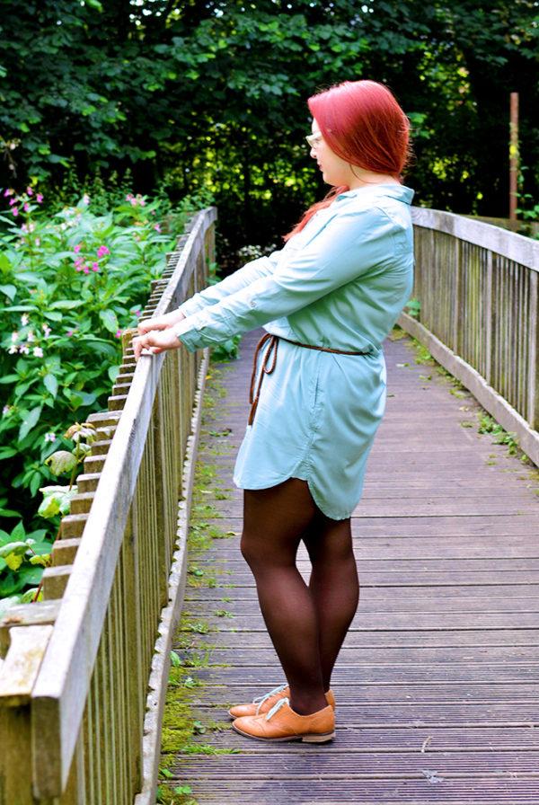 Longline Shirt Dress Outfit Ideas