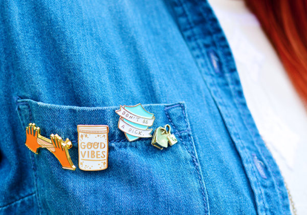 #Pingame The best enamel pins on Etsy
