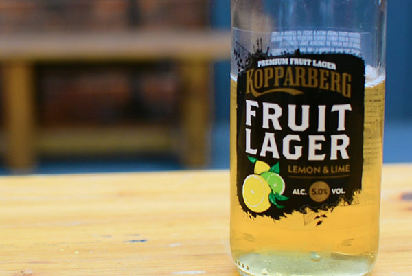 Kopparberg Fruit Lager, Lemon & Lime Fruit Beer
