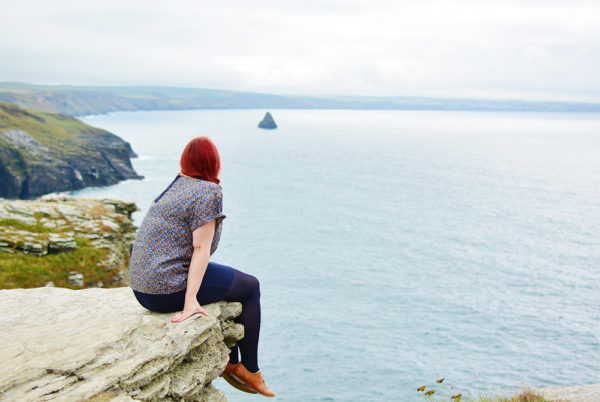 Clifftop View Cornwall