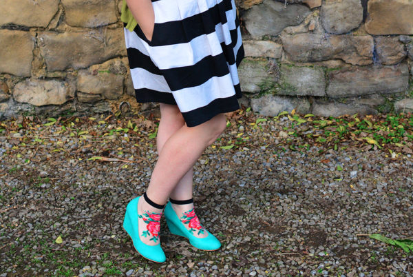 Socks With Shoes Outfit Post