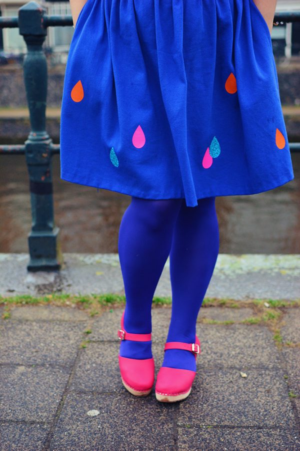 Raindrop Skirt by Lucy Teacup