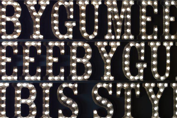 Yorkshire Art, Yorkshire Lighting Installation, Ibis Styles Leeds decor