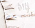 DIY: Mini Bunting