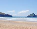 Best Beaches in Cornwall: Holywell Bay