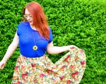Outfit Post: Fun Fifties Style Circle Skirt