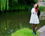 Outfit Post: White Lace Dress Outfit Ideas
