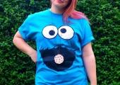 Cookie Monster Fancy Dress Costume